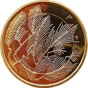 Finland 5 Euro Wilderness 2014 KM# 211 coin reverse