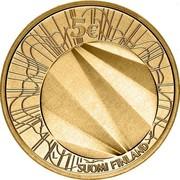 Finland 5 Euro World Design Capital Helsinki 2012 KM# 181 5€ L SUOMI FINLAND coin obverse