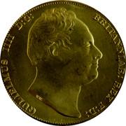 Australia 5 S. 5 Shillings (Restrike 2006) 1830 (2006) X# 3 GULIELMUS IIII D:G: BRITANNIAR: REX F:D: W.W. coin obverse