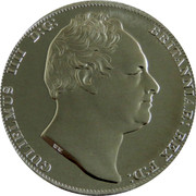 Australia 5 S. Restrike 2006 1830 (2006) X# 3a GULIELMUS IIII D:G: BRITANNIAR: REX F:D: W.W. coin obverse