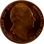 Australia 5 S. Restrike 2006 1830 (2006) X# 3b GULIELMUS IIII D:G: BRITANNIAR: REX F:D: W.W. coin obverse