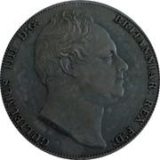 Australia 5 S. Restrike 2006 1830 (2006) X# 3d GULIELMUS IIII D:G: BRITANNIAR: REX F:D: coin obverse
