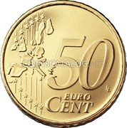 Finland 50 Euro Cent 1999 M Proof KM# 103 Euro Coinage coin reverse