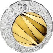 Finland 50 Euro World Design Capital Helsinki 2012 L Proof KM# 180 50€ L SUOMI FINLAND coin reverse