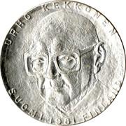 Finland 50 Markkaa 80th Birthday of 8th President Kekkonen 1981 K KM# 59 URHO KEKKONEN SUOMI FINLAND 1981 coin obverse