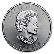 Canada 8 Dollars Canadian Bison 2015  ELIZABETH II 8 DOLLARS coin obverse