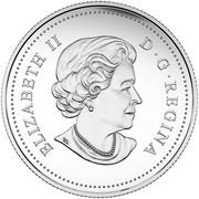 Canada 8 Dollars Dragon Dance 2016 Matte Proof KM# 2114 ELIZABETH II D ∙ G ∙ REGINA coin obverse
