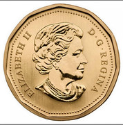 Canada Dollar Blue-winged Teal 2013 Proof KM# 1360 ELIZABETH II D • G • REGINA coin obverse