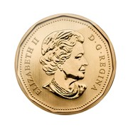 Canada Dollar Great Grey Owl 2011 Prooflike KM# 1086 ELIZABETH II D∙G∙REGINA SB coin obverse