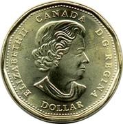 Canada Dollar Womens Right to Vote 2016 KM# 2102 ELIZABETH II CANADA D∙G∙REGINA DOLLAR coin obverse