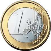 Finland Euro 1st map 1999 M Proof KM# 104 1 EURO LL coin reverse