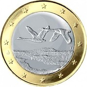Finland Euro 2nd map 2007 FI Proof KM# 129 coin obverse