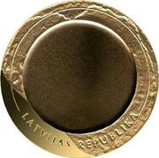 Latvia Lats Coin of Fortune 2002 Proof KM# 56 LATVIJAS REPUBLIKA coin obverse