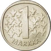 Finland Markka 1964 S KM# 49 Reform Coinage 1 MARKKA coin reverse