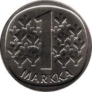 Finland Markka 1970 S KM# 49a Reform Coinage 1 MARKKA coin reverse