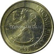 Finland Markka 1993 M Sets only KM# 76a Reform Coinage coin obverse