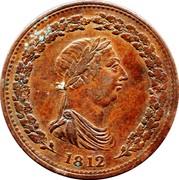 Canada One Penny (Token Thomas Halliday) 1812 coin obverse