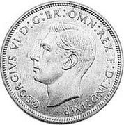 Australia Penny 1 Penny 1937 KM# Pn24 GEORGIVS VI D:G:BR:OMN:REX F:D:IND:IMP coin obverse