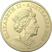 Australia Two Dollars Mr Squiggle 60 Years - Bill 2019  ELIZABETH II AUSTRALIA 2019 IRB coin obverse