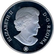 Canada 20 Dollars 2009 Proof KM# 872A Circulation Coins ELIZABETH II D G REGINA coin obverse