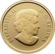 Canada 200 Dollars Petroleum and Oil Trade 2010 KM# 1000 ELIZABETH II D ∙ G ∙ REGINA SB coin obverse