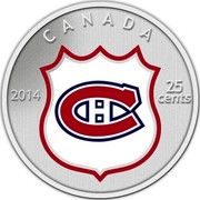Canada 25 Cents 2014 KM# 1572 Circulation Coins CANADA 25 CENTS 2014 coin reverse