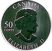 Canada 50 Cents Guy LaFleur 2005 Proof, Specimen KM# 577 CANADA 50 CENTS ELIZABETH II coin obverse