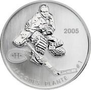 Canada 50 Cents Jean Beliveau 2005 Proof, Specimen KM# 579 2005 JEAN BELIVEAU #4 coin reverse