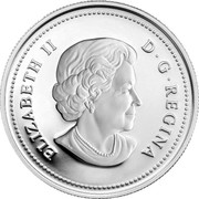 Canada 8 Dollars Maple of Strength 2010 Proof KM# 1012 ELIZABETH II D ∙ G ∙ REGINA coin obverse