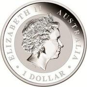 Australia 1 Dollar (Koala) ELIZABETH II AUSTRALIA 1 DOLLAR coin obverse