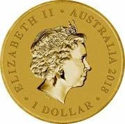 Australia 1 Dollar Merry Christmas Koala (Coin & Stamp) 2018 P ELIZABETH II • AUSTRALIA 2018 • 1 DOLLAR • IRB coin obverse