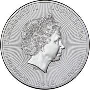 Australia 10 Dollars Koala and baby 2018 ELIZABETH II AUSTRALIA 10 DOLLARS 2018 10 OZ 9999 SILVER coin obverse