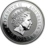 Australia 10 Dollars Kookaburra 2004 P Proof ELIZABETH II AUSTRALIA 10 DOLLARS IRB coin obverse