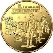 Australia 10 Dollars The Bold, The Bad and The Ugly 2019 AUSTRALIAN BUSHRANGERS coin reverse