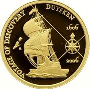 Australia 10 Dollars Voyage of Discovery Duyfken 2006 Proof VOYAGE OF DISCOVERY DUYFKEN 1606 2006 coin reverse
