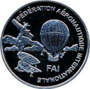 Finland 10 Euro 1st World Air Games 1997 Proof FÉDÉRATION AÉRONAUTIQUE INTERNATIONALE FAI coin obverse
