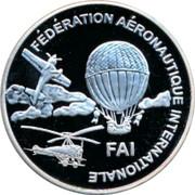 Finland 10 Euro 2nd World Air Games 1998 Proof FÉDÉRATION AÉRONAUTIQUE INTERNATIONALE FAI coin obverse