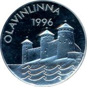 Finland 10 Euro Olavinlinna 1996 Proof X# 5 OLAVINLINNA 1996 coin reverse
