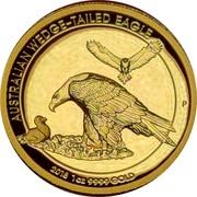 Australia 100 Dollars Wedge-tailed Eagle High Relief 2018 P Proof AUSTRALIAN WEDGE-TAILED EAGLE 2018 1 OZ 9999 GOLD coin reverse