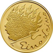 Finland 100€ Eino Leino 2016 Proof EINO LEINO coin reverse