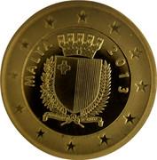 Malta 15 Euro 2013 Proof KM# 157 Euro Coinage MALTA 2013 coin obverse