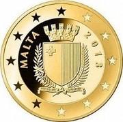 Malta 15 Euro Auberge De Provence 2013 MALTA 2015 REPUBBLIKA TA' MALTA coin obverse