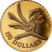 Australia 150 Dollars Mangles' Kangaroo Paw Flower 1997 Proof 150 DOLLARS HH coin reverse