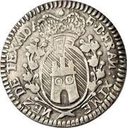 Malta 2 Tari Francisco Ximenez de Texada 1774 KM# 290 F.D.FRAN: XIME NEZ DE TEXADA coin obverse