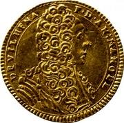 Malta 2 Zecchino Antonio Manoel de Vilhena 1723 KM# 183 DEVILHENA F∙D∙AN:MANOEL coin obverse