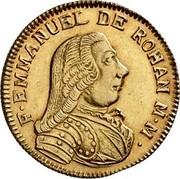 Malta 20 Scudi Emmanuel de Rohan 1782 KM# 330 F∙EMMANUEL DE ROHAN M∙M∙ coin obverse