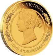 Australia 25 Dollars Queen Victoria 200th Anniversary 2019 P QUEEN VICTORIA 200TH ANNIVERSARY coin reverse
