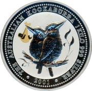 Australia 30 Dollars Kookaburra - Japanese Royal Baby privy mark 2001 P Proof THE AUSTRALIAN KOOKABURRA 1 KILO 999 SILVER 2001 coin reverse