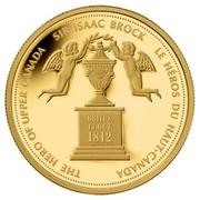 Canada 350 Dollars Sir Isaac Brock 2012 Proof KM# 1327 THE HERO OF UPPER CANADA SIR ISAAC BLOCK LE HEROS DU HAUT-CANADA coin reverse