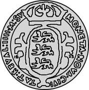 Estonia 4 Marka Gustav II Adolf 1623 KM# 5.3 MONETA ∙ NOVA ∙ CIVI ∙ TAT : REVAL : IIII ∙ M : SV coin reverse